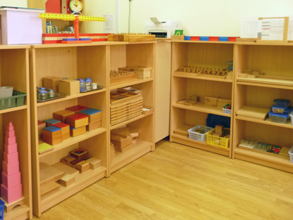 Montessori room St Petersburg Russia