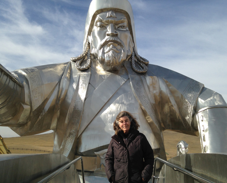 Susan in Mongolia
